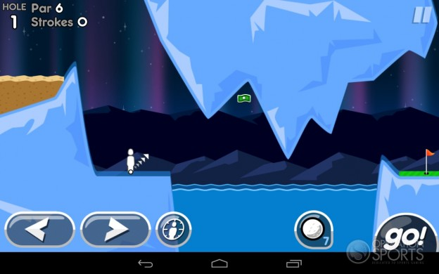 Super Stickman Golf 2 Screenshot #6 for Android