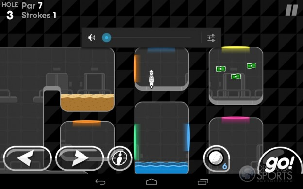 Super Stickman Golf 2 Screenshot #7 for Android