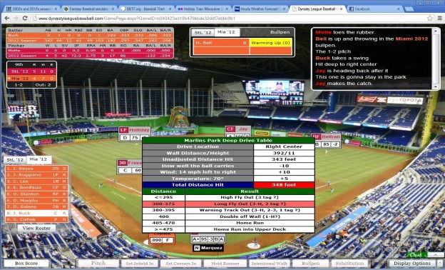 Dynasty League Baseball Online Screenshot #33 for PC