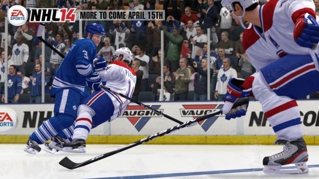 NHL 14 Screenshot #2 for Xbox 360