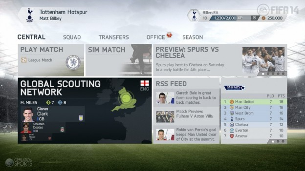 FIFA Soccer 14 Screenshot #1 for PS3
