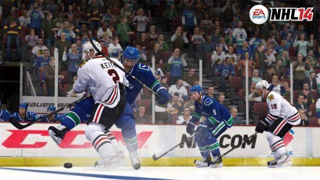 NHL 14 Screenshot #6 for Xbox 360