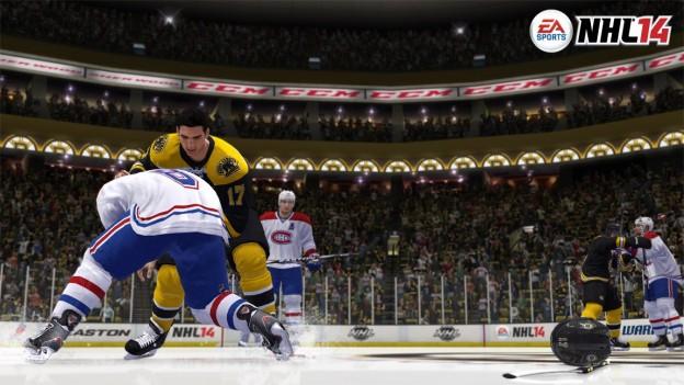 NHL 14 Screenshot #8 for Xbox 360