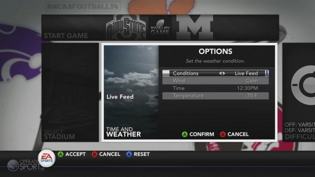 NCAA Football 14 Screenshot #77 for Xbox 360