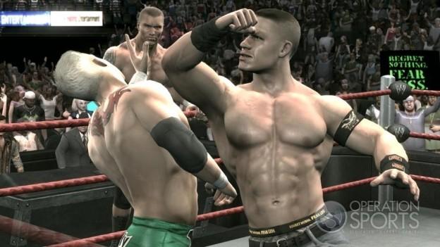 WWE Smackdown! vs. Raw 2009 Screenshot #2 for Xbox 360