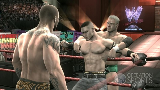 WWE Smackdown! vs. Raw 2009 Screenshot #3 for Xbox 360