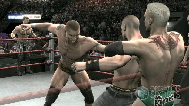 WWE Smackdown! vs. Raw 2009 Screenshot #4 for Xbox 360