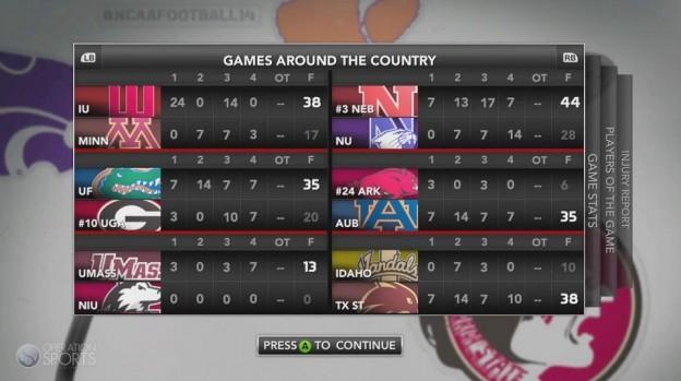 NCAA Football 14 Screenshot #45 for PS3