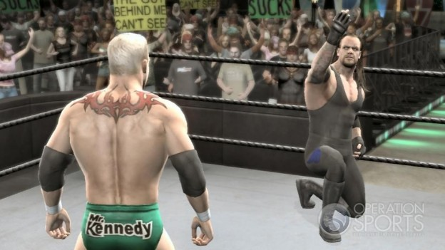 WWE Smackdown! vs. Raw 2009 Screenshot #1 for PS3