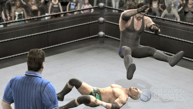 WWE Smackdown! vs. Raw 2009 Screenshot #2 for PS3