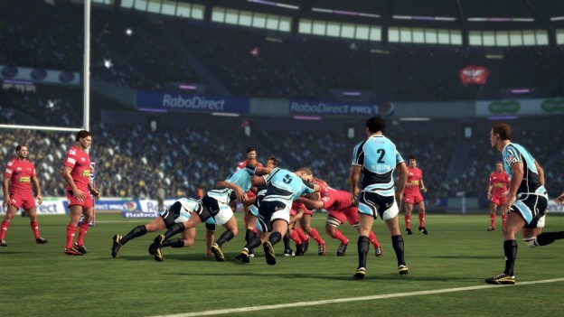 Rugby Challenge 2: The Lions Tour Edition Screenshot #2 for Xbox 360