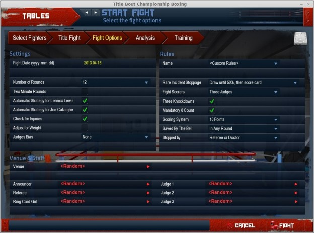 Title Bout Championship Boxing 2013 Screenshot #17 for PC