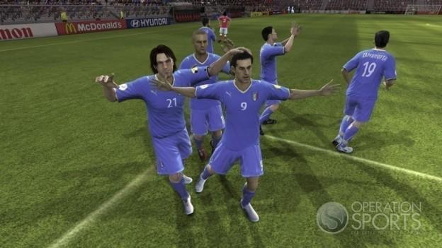 UEFA EURO 2008 Screenshot #7 for Xbox 360