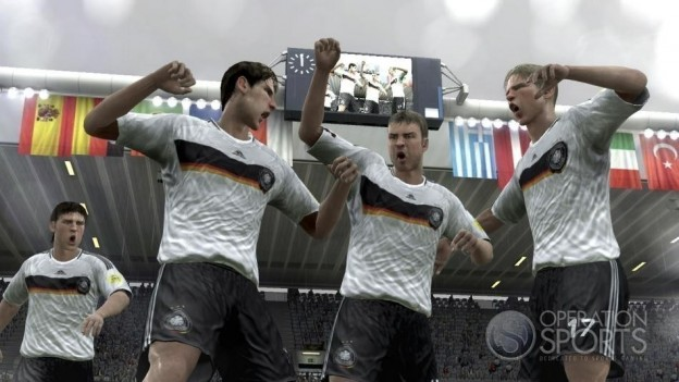 UEFA EURO 2008 Screenshot #9 for PS3