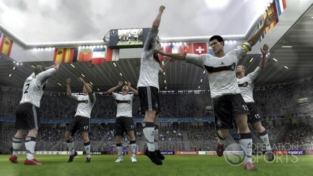 UEFA EURO 2008 Screenshot #10 for PS3
