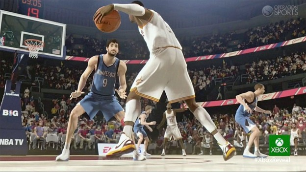 NBA Live 14 Screenshot #2 for Xbox One