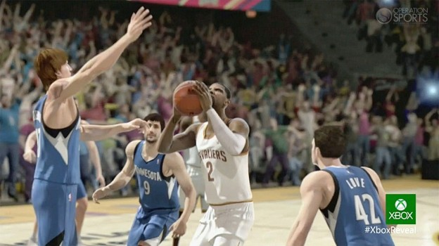 NBA Live 14 Screenshot #3 for Xbox One