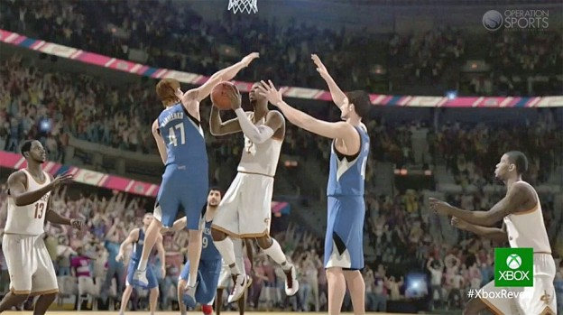 NBA Live 14 Screenshot #4 for Xbox One