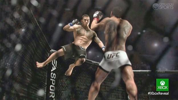 EA Sports UFC Screenshot #4 for Xbox One