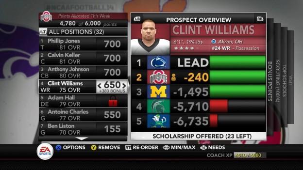 NCAA Football 14 Screenshot #126 for Xbox 360