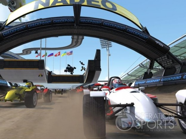 TrackMania Nations Forever Screenshot #2 for PC
