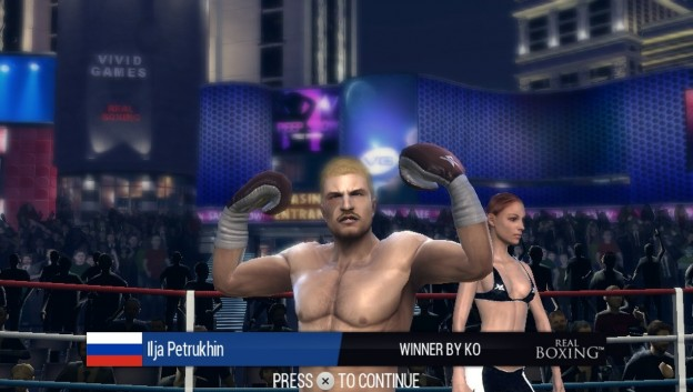 Real Boxing Screenshot #2 for PS Vita