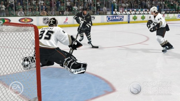 NHL 08 Screenshot #9 for Xbox 360