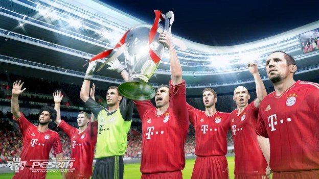 Pro Evolution Soccer 2014 Screenshot #2 for PS3
