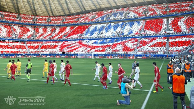 Pro Evolution Soccer 2014 Screenshot #4 for PS3