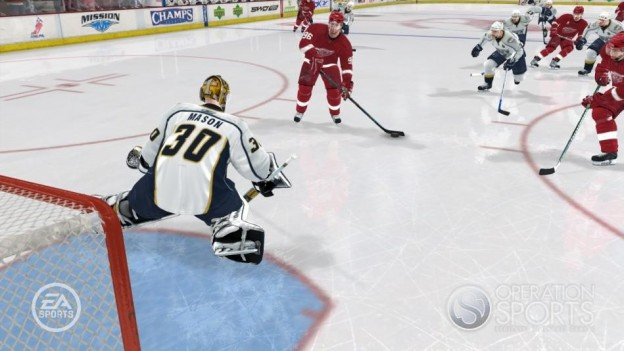 NHL 08 Screenshot #11 for Xbox 360