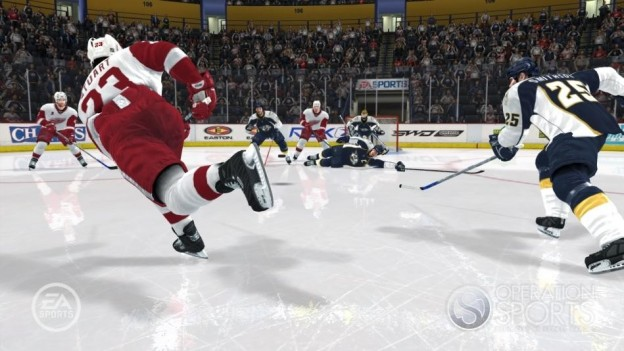 NHL 08 Screenshot #12 for Xbox 360