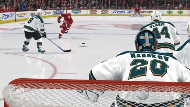 NHL 08 Screenshot #13 for Xbox 360