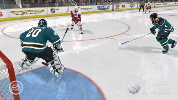 NHL 08 Screenshot #14 for Xbox 360