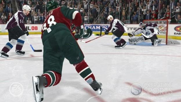 NHL 08 Screenshot #15 for Xbox 360