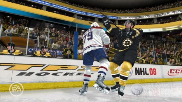 NHL 08 Screenshot #17 for Xbox 360