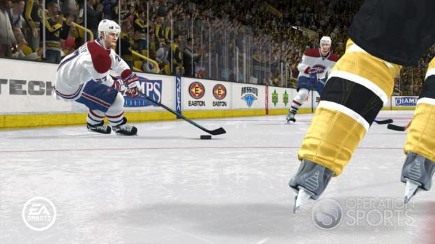 NHL 08 Screenshot #18 for Xbox 360