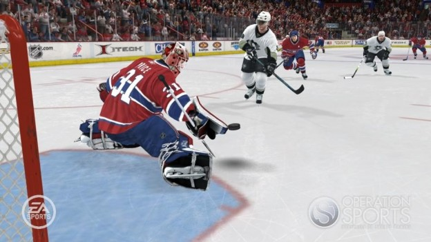 NHL 08 Screenshot #21 for Xbox 360