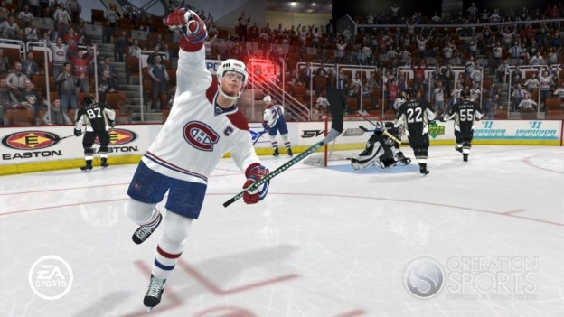 NHL 08 Screenshot #22 for Xbox 360