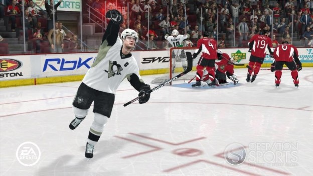NHL 08 Screenshot #25 for Xbox 360