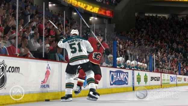 NHL 08 Screenshot #27 for Xbox 360
