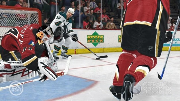 NHL 08 Screenshot #28 for Xbox 360