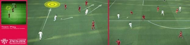 Pro Evolution Soccer 2014 Screenshot #9 for Xbox 360