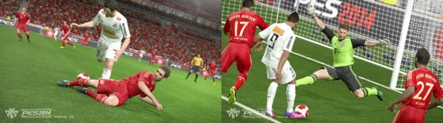 Pro Evolution Soccer 2014 Screenshot #11 for Xbox 360