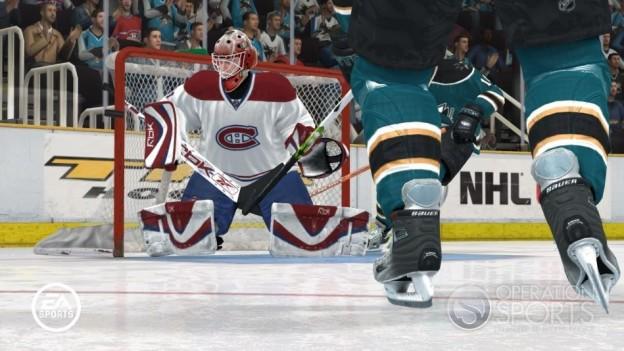 NHL 08 Screenshot #32 for Xbox 360