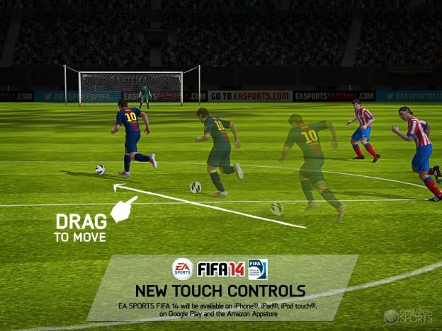 FIFA Soccer 14 Screenshot #3 for iOS