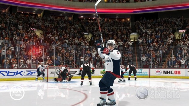 NHL 08 Screenshot #35 for Xbox 360