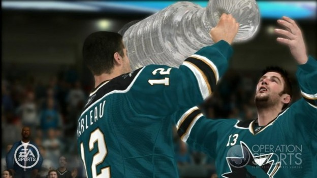 NHL 08 Screenshot #37 for Xbox 360