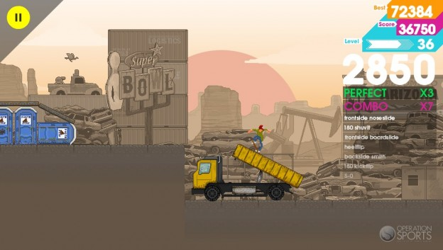 OlliOlli Screenshot #1 for PS Vita