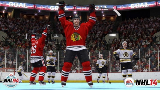 NHL 14 Screenshot #52 for Xbox 360