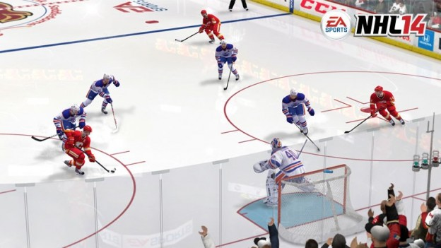 NHL 14 Screenshot #54 for Xbox 360